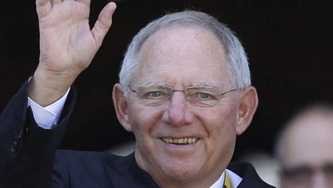 El ministro de Finanzas alemán Wolfgang Schäuble en una foto de archivo.