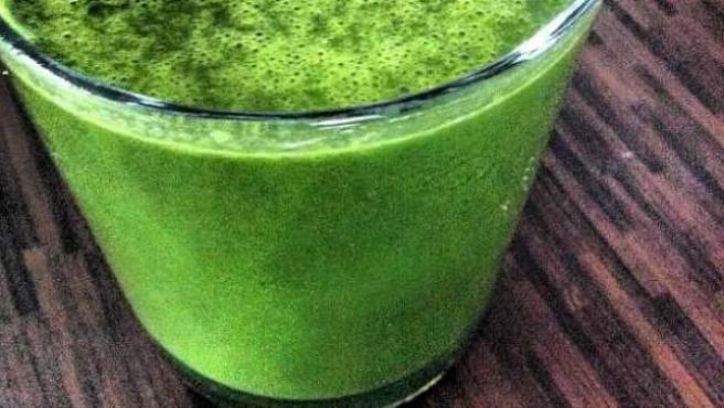 Un zumo hecho a base de distintos vegetales.