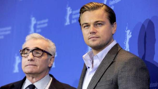 Martin Scorsese y Leonardo Di Caprio.