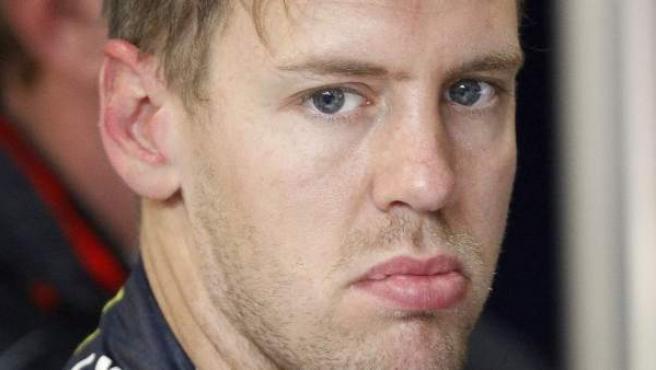 El piloto alemán de Red Bull Sebastian Vettel.
