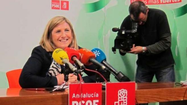 Irene García, seceretaria provincial del PSOE de Cádiz