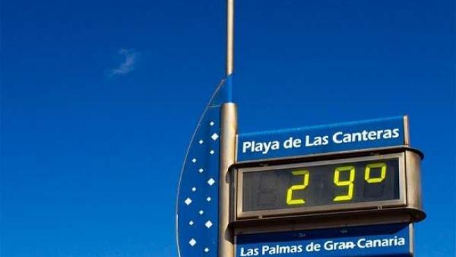 Reloj de la Playa de Las Canteras