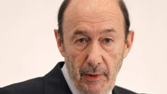 El secretario general del PSOE, Alfredo Pérez Rubalcaba, en una imagen de archivo.