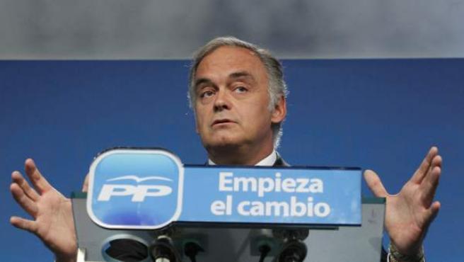 El vicesecretario de Estudios del PP, Esteban González Pons, en una imagen de archivo.