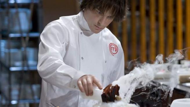 El cocinero Jordi Cruz en 'MasterChef'.