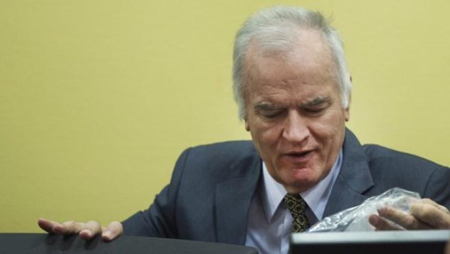 El exgeneral serbobosnio Ratko Mladic.