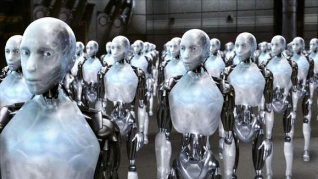 Imagen de la película 'Yo, Robot'.