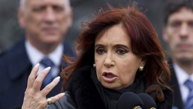 Cristina Fernández de Kirchner, en una foto de archivo.
