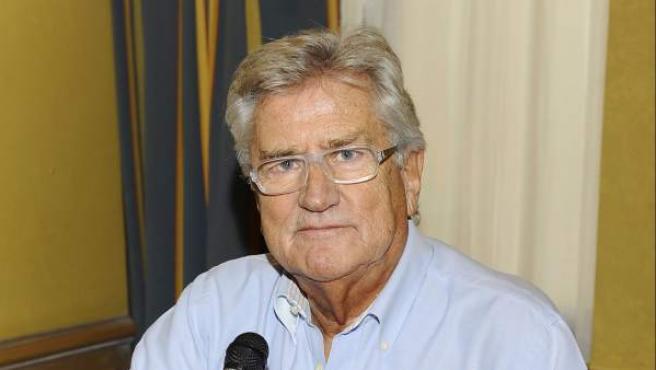 Pepe Domingo Castaño durante la presentación del libro de 'Tiempo de juego'.