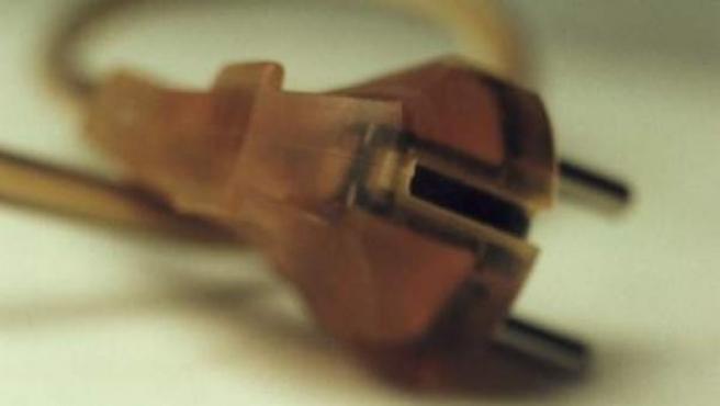 Imagen de archivo de un enchufe.