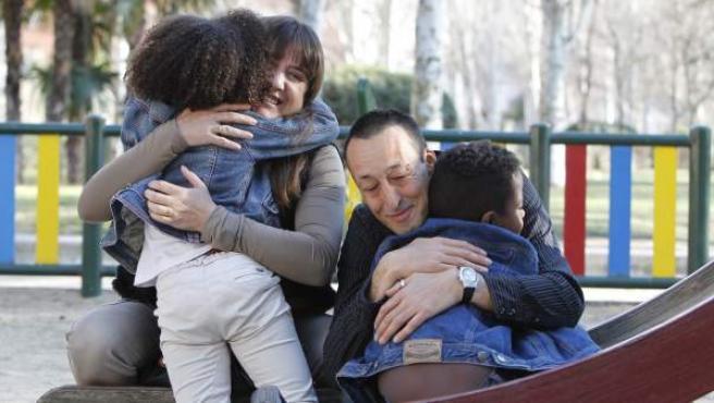 Adopciones en España.