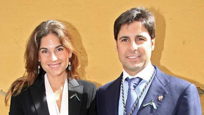 Francisco Rivera y Lourdes Montes en Sevilla, en marzo de 2013.