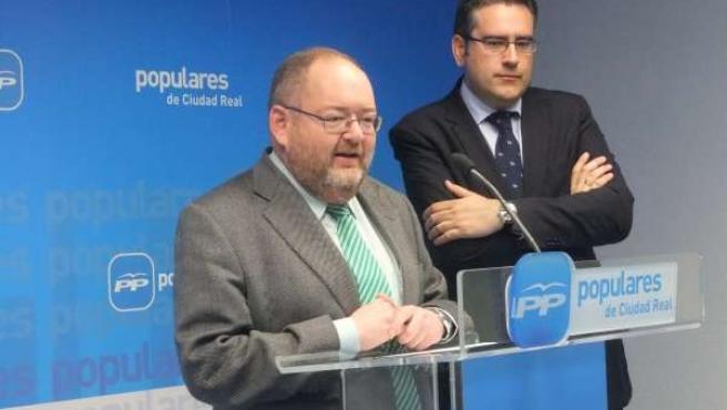 Rodríguez y Cuevas en rueda de prensa