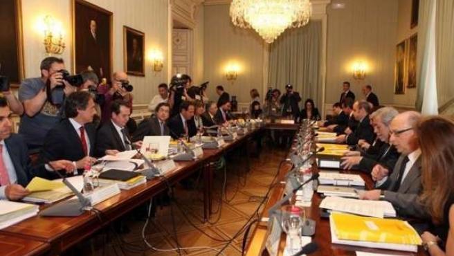 Cámara en la reunión