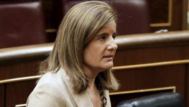 La ministra de Empleo, Fátima Báñez, en una imagen de archivo.