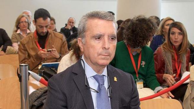 José Ortega Cano en los juzgados de Sevilla, el 14 de marzo de 2013.