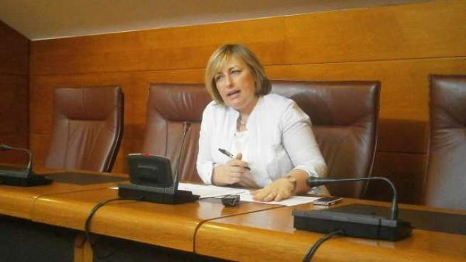 La socialista Ana Isabel Méndez