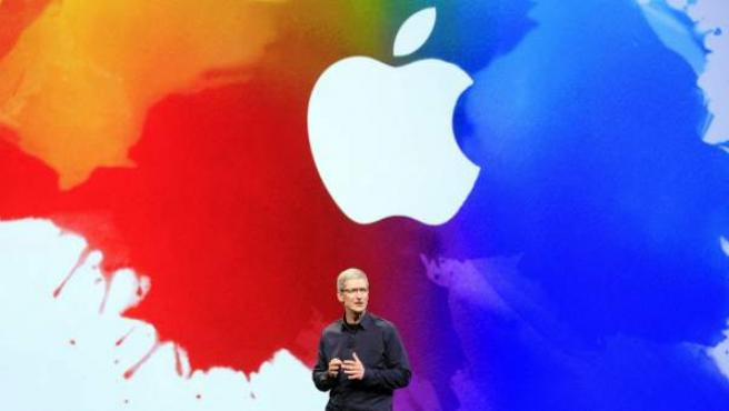 Tim Cook, presidente ejecutivo de Apple.