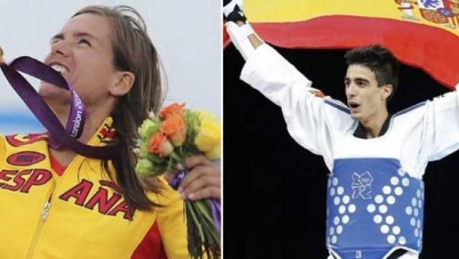 Marina Alabau y Joel González, Premios Nacionales del Deporte 2012.