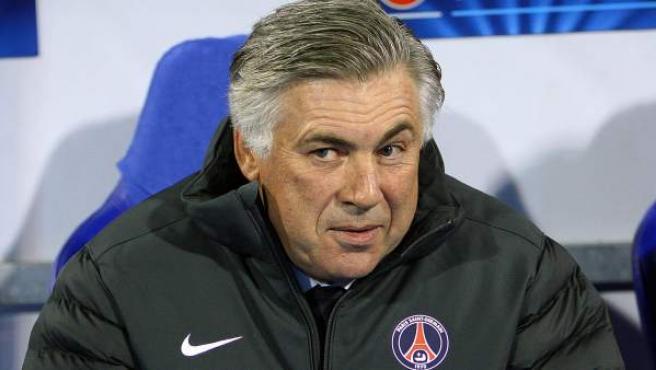 Carlo Ancelotti, entrenador del Paris Saint Germain.