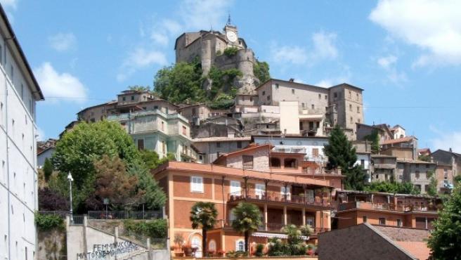 La localidad italiana de Subiaco.