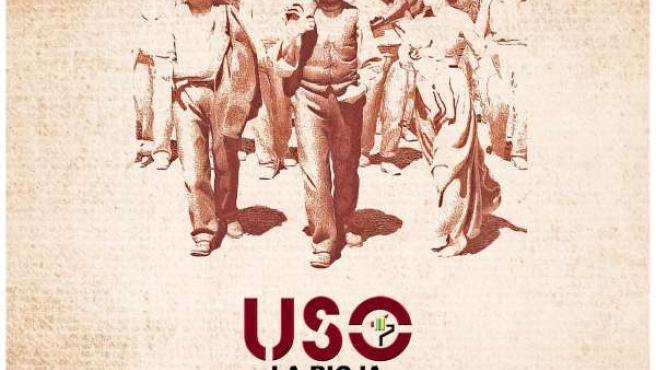 Cartel de USO para la celebración del '1 de mayo'