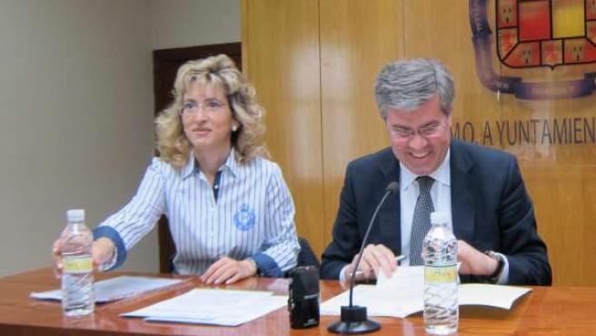 Fernández de Moya junto a Cárdenas hoy