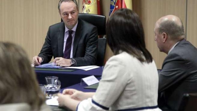 Fabra preside el pleno del Consell