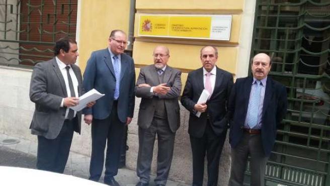 Reunión CHD-Diputación