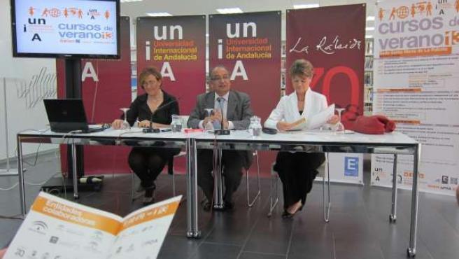 Presentación de los Cursos de Verano de la UNIA en La Rábida.