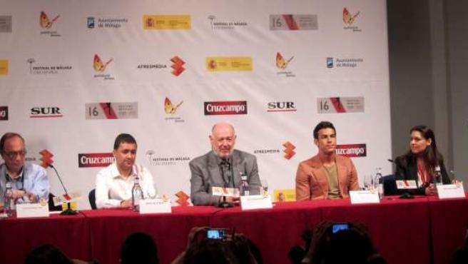 Equipo de 'La mula' en el Festival de Cine de Málaga