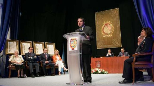 Elías Bendodo en el Día de Málaga de 2013