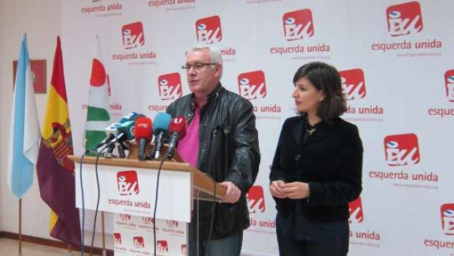 Cayo Lara y Yolanda Díaz, en la valoración del Consejo de Ministros