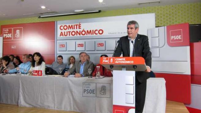 Villarrubia interviene en el Comité Autonómico del PSOE