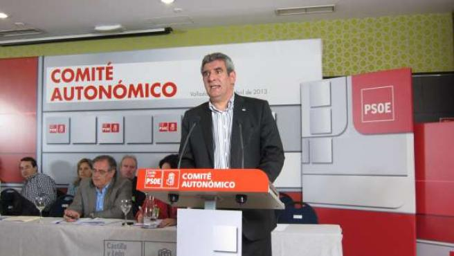 Villarrubia en el Comité Autonómico