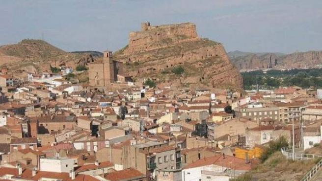 Una panorámica general de la localidad riojana de Arnedo.