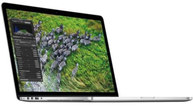 MacBook Pro con pantalla de retina.