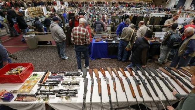 Feria de las armas en Albany, EE UU.