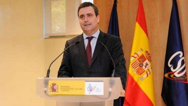 Miguel Cardenal, presidente del CSD.
