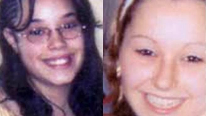 Tres jóvenes desaparecidas entre 2002 y 2004 en casos separados han aparecido hoy en una vivienda de Cleveland (EE UU). A la izquierda, Gina DeJesus, que desapareció en 2004 con 14 años. A la derecha, Amanda Marie Berry, desaparecida en 2003 con 16 años.