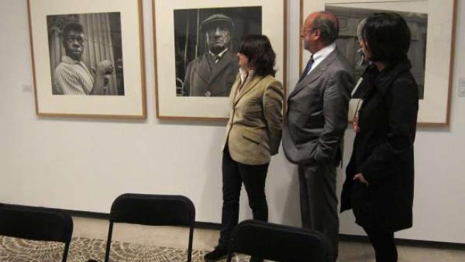 Presentación de la exposición de fotografía de Vivian Maier