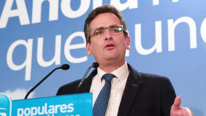 El líder del PP en el País Vasco, Antonio Basagoiti.