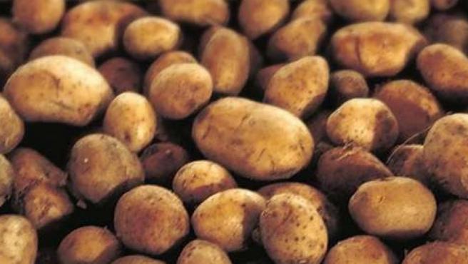 Imagen de unas patatas.
