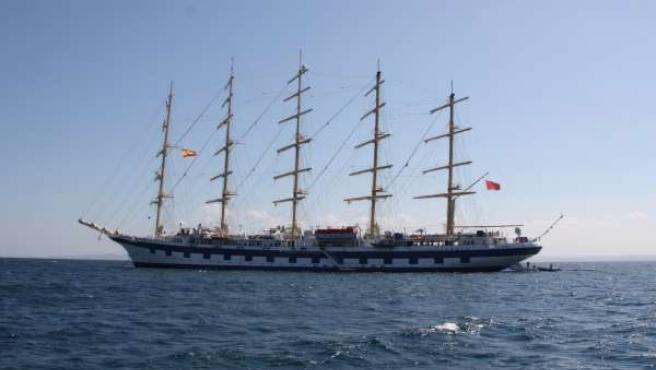 El velero Royal Clipper