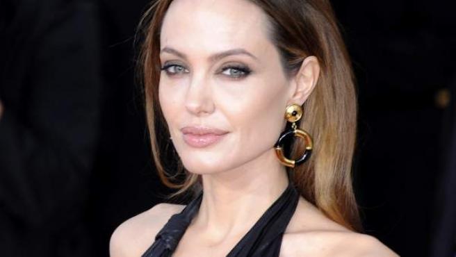 Angelina Jolie en una imagen de enero de 2012.