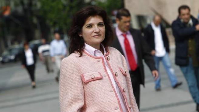 Eva María Nicolás se sometió a una doble mastectomía preventiva hace dos años.