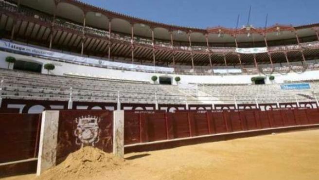 Imagen de archivo de una plaza de toros.
