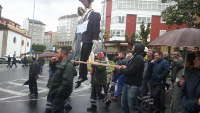 Protestas de Navantia