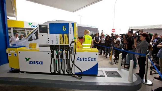 Primer punto de venta de autogas en Canarias
