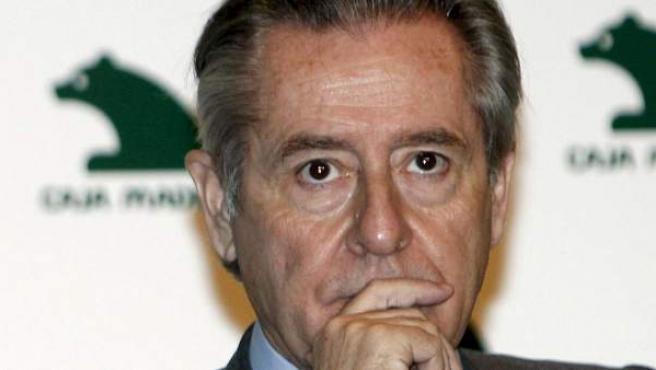 Miguel Blesa, expresidente de Caja Madrid, en una fotografía de 2009.